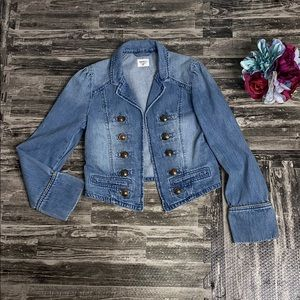 Gap kids denim band jacket